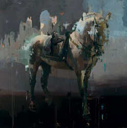 Adagio by Christian Hook - Limited Edition on Canvas sized 34x34 inches. Available from Whitewall Galleries